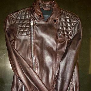 All Saints Conroy Leather Jacket